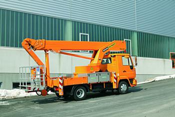 LKW-Arbeitsbühne 28 m mieten leihen