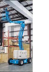 Gelenkteleskoparbeitsbühne 12m selbstfahrend mieten leihen