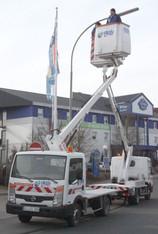 LKW-Arbeitsbühne 11m von France Elévateur mieten leihen