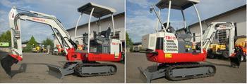 Elektrobagger /Diesel-Minibagger 1,7 t (Hybrid) mieten leihen