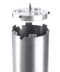 Kernbohrkronen mit Anbohrhilfe mieten leihen